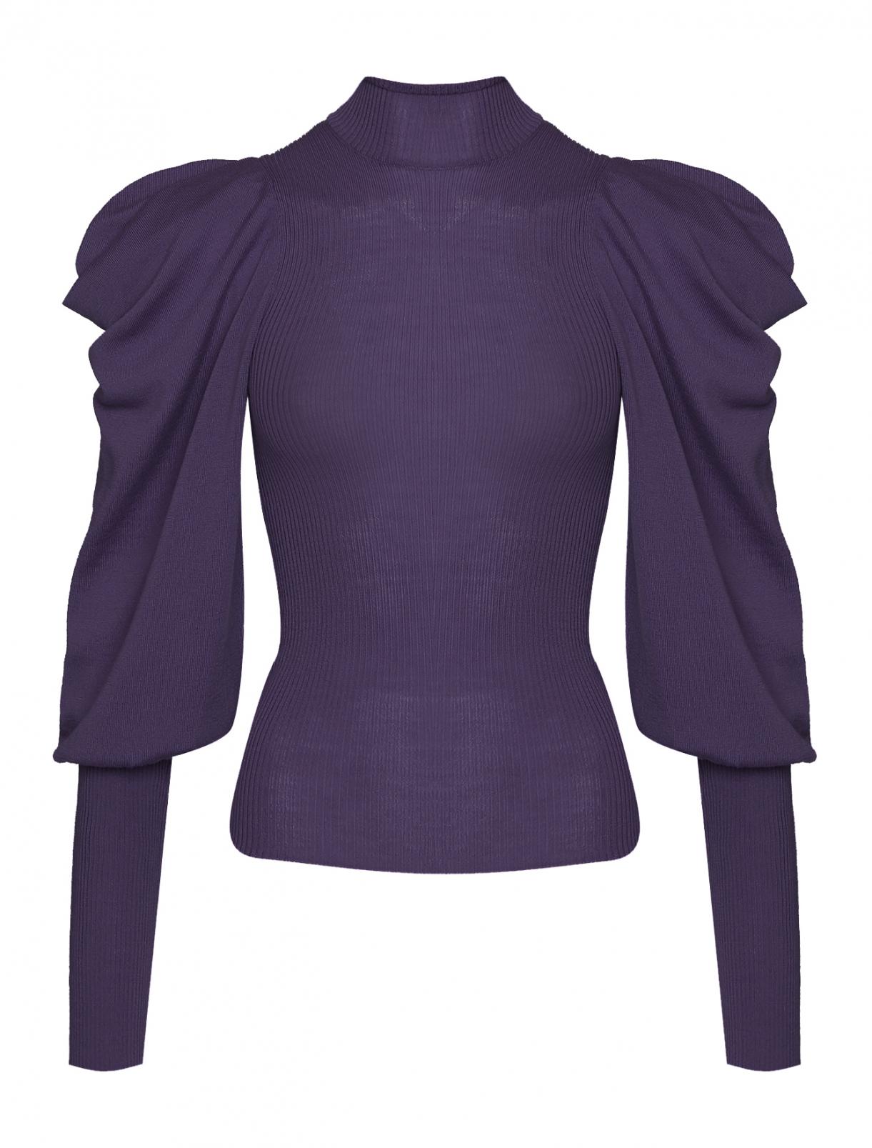 Джемпер из шерсти с объемными рукавами Alberta Ferretti  –  Общий вид