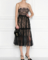 Платье миди кружевное Self-Portrait  –  МодельОбщийВид