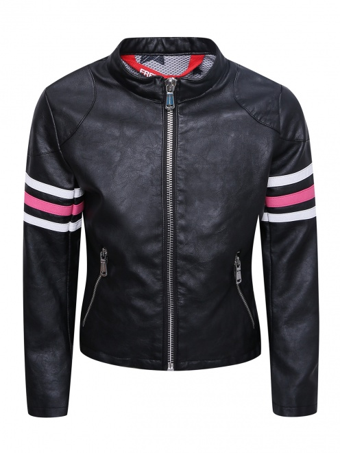 Куртка из эко-кожи в байкерском стиле Freedomday - Общий вид