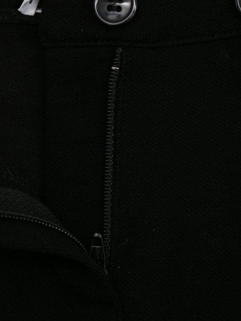 Брюки трикотажные из шелка и шерсти - Деталь1