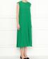 Платье из хлопка свободного кроя без рукавов Jil Sander  –  МодельВерхНиз