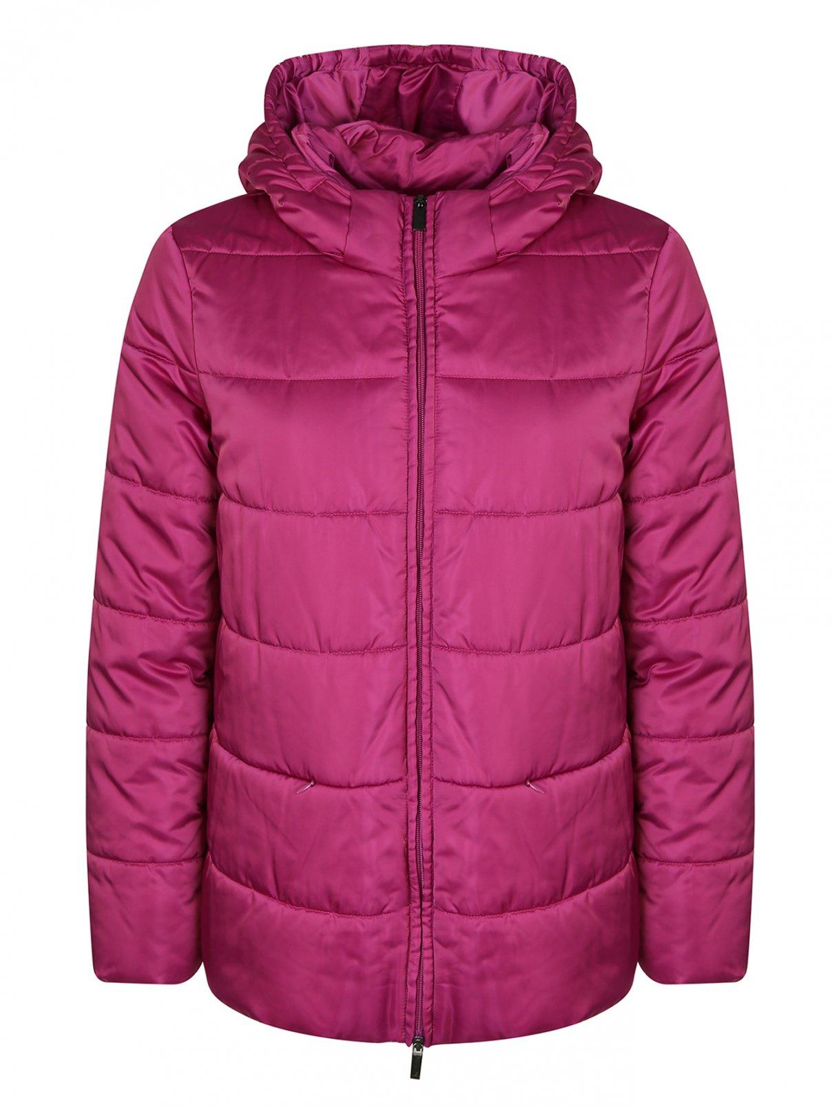 Куртка стеганая с капюшоном Persona by Marina Rinaldi  –  Общий вид