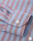 Рубашка из хлопка и льна  с узором LARDINI  –  Деталь1