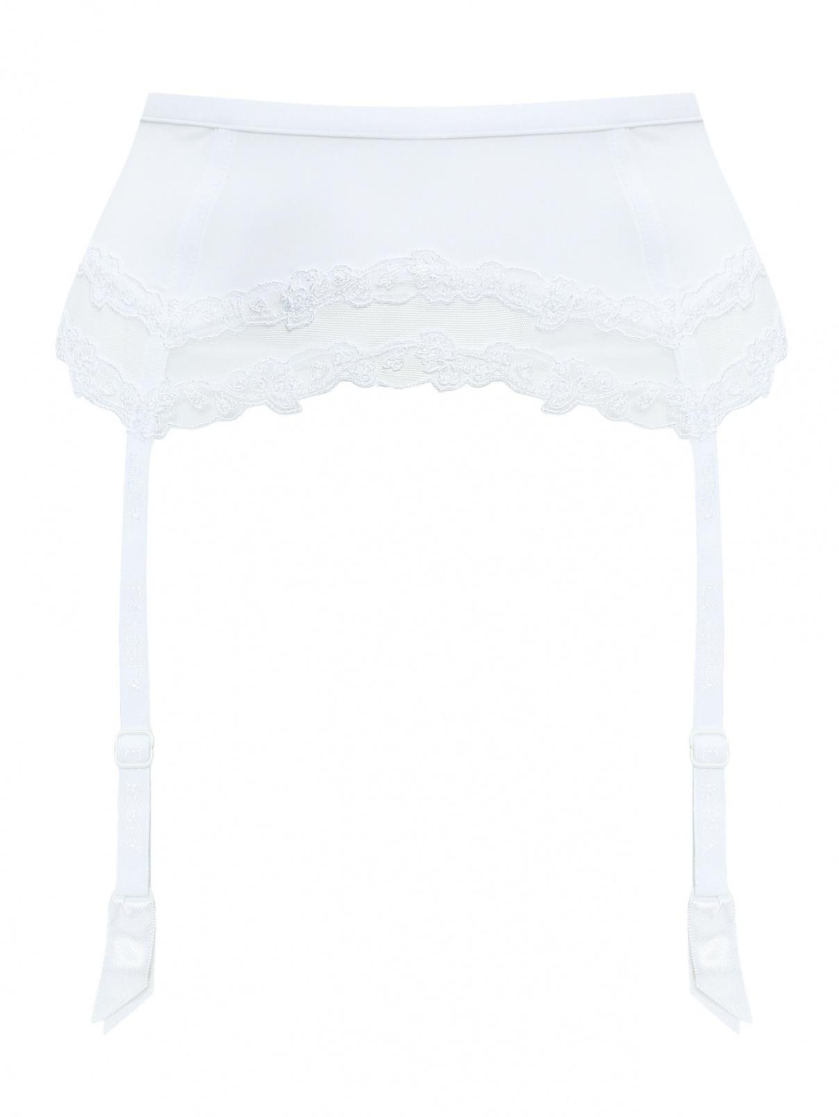 Пояс для чулок с вышивкой La Perla  –  Общий вид