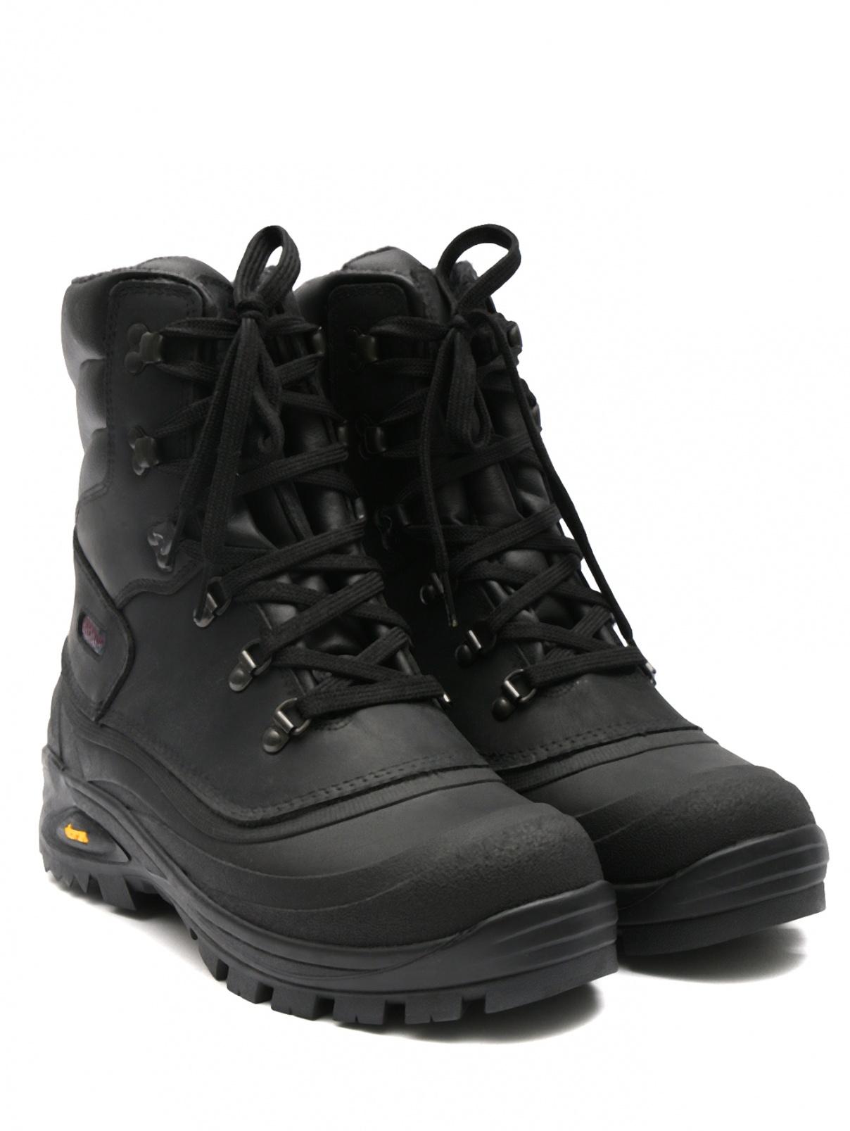 Ботинки кожаные на шнурках Bosco Fresh  –  Общий вид