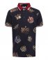 Поло из хлопка с узором Dolce & Gabbana  –  Общий вид