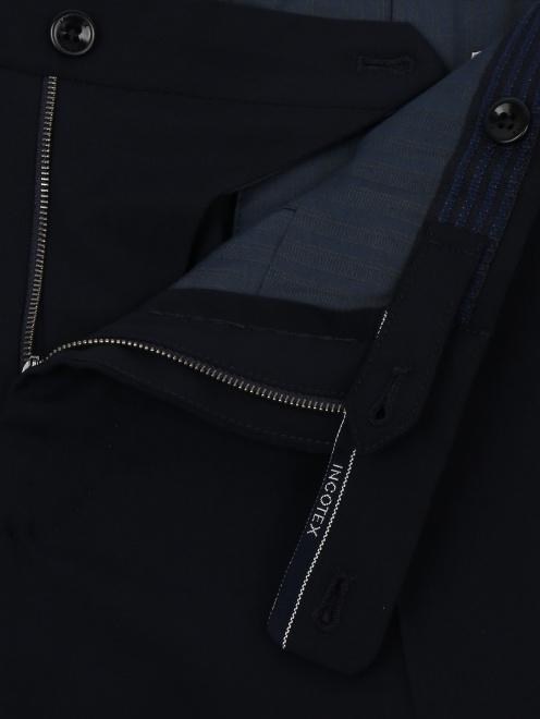 Брюки прямого кроя из шерсти Incotex - Деталь1