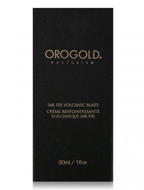 Мужская вулканическая сыворотка Face Care Oro Gold Cosmetics - Общий вид
