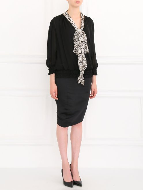 Блуза из шелка  - Общий вид